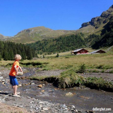 huttentocht met kinderen bergwandelen vakantie Oostenrijk Raurisertal de Berghut